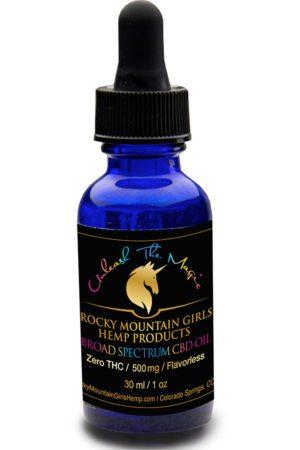 Rocky Mountain Girls Hemp Products Broad Spectrum CBD Oil 500mg Flavorless.jpg