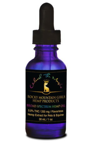 Rocky Mountain Girls Hemp Products - 250mg CBD Pet Oil MCT