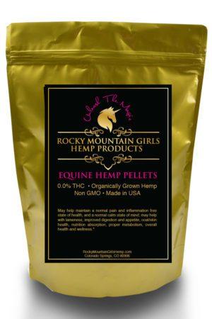 Rocky Mountain Girls Hemp Products Generic Equine CBD Pellets