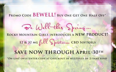 Full Spectrum CBD Spring Promo