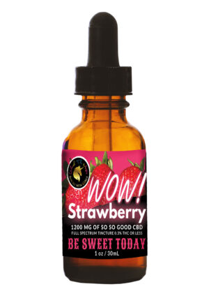 Rocky Mountain Girls CBD Hemp Products Strawberry-flavored cbd tincture