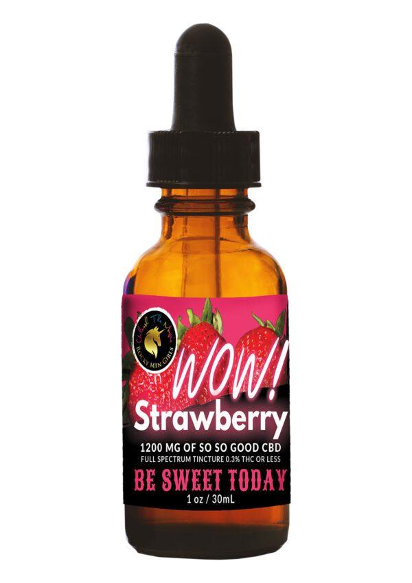 Rocky Mountain Girls CBD Hemp Products Strawberry-flavored cbd tincture