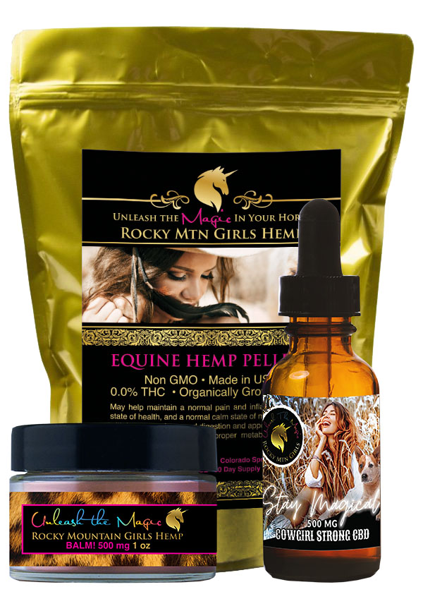Rocky Mountain Girls Hemp CBD Products for People, Pets and Horses