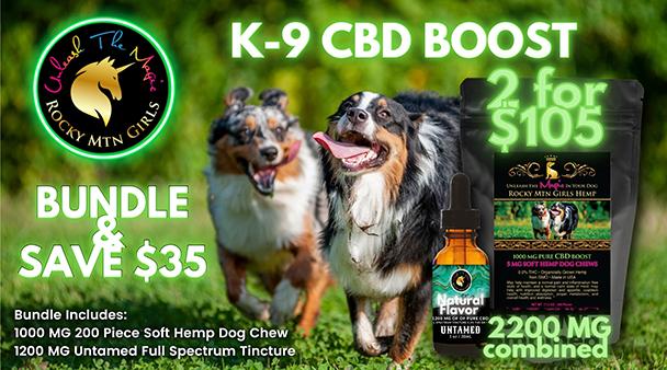K9 CBD BOOST Bundle